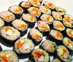 Recipe Thermomix Sushi by Beck- ThermoSisters, learn to make this recipe easily in your kitchen machine and discover other Thermomix recipes in Pasta & rice dishes. Sushi Recipes, Lunch Box Recipes, Pasta Recipes, Snack Recipes, Cooking Recipes, Savoury Recipes, Lunch Ideas, Dinner Recipes, Savory Snacks