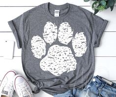 SVG and PNG files for your printing and crafting needs. by AnnaLizDesign Paws Shirt, Tiger Shirt, Bird Shirt, School Spirit Wear, School Spirit Shirts, Personalized Gifts For Kids, Personalized Shirts, Cut Shirts, Kids Shirts