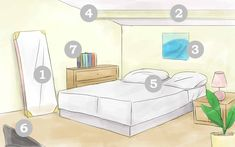 wikiHow to Feng Shui Your Bedroom -- via wikiHow.com