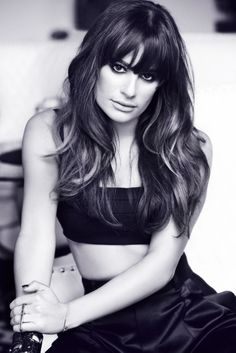 Lea Michele for Marie Claire Mexico - July 2013. Hair - Mark Townsend / Starworks Artists.