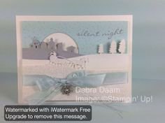 Silent Night Jingle by Debra - Cards and Paper Crafts at Splitcoaststampers