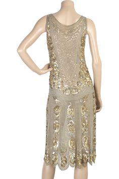 1920s flapper dress