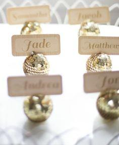 Sophisticated Sparkle on itsabrideslife.com/Glitter Wedding Ideas/Sparkly Wedding Ideas/Sequin Wedding Ideas