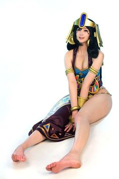 Spiral Cats Queen of Egypt Cleopatra Cosplay Is Stunning as Usual - 2P.com - Civilization Online - newmmos