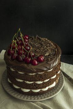 black forest cake - torta foresta nera