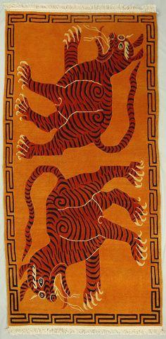 TIBETIAN TIGER CARPETS | tibetan-tiger-rugs10