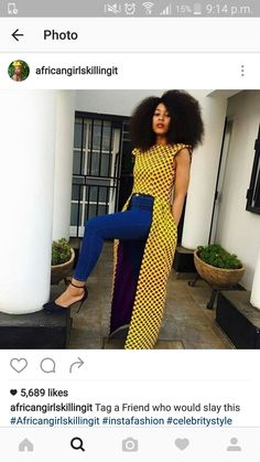 Here's Fashionable african fashion outfits 3385723841 African Print Dresses, African Fashion Dresses, African Dress, African Prints, Ghanaian Fashion, African Outfits, African Clothes, African Inspired Fashion, African Print Fashion