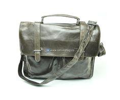 Leather Business Laptop Bag Messenger Bag
