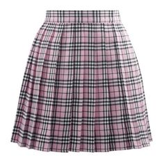 Vogstyle Women's Basic High waisted Solid Pleated Mini Uniform Skirt (265 MXN) ❤ liked on Polyvore featuring skirts, mini skirts, bottoms, high rise skirts, high waisted mini skirt, pleated skirt, high-waisted skirts and wide skirt