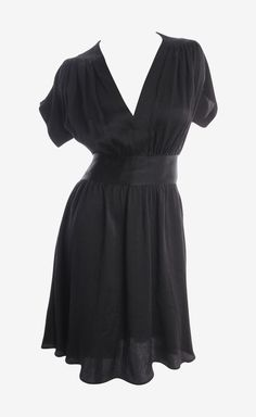 Balenciaga Black Dress | VAUNTE