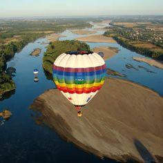 Vol en montgolfière sur la Loire (Balloon in the Loire Valley)