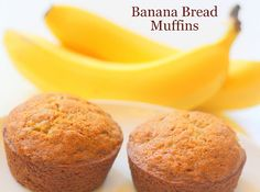 My So-Called (Mommy) Life: Banana Bread Muffins. Easy, nutritious breakfast for toddlers!