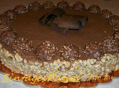 Τούρτα Ferrero rocher ! | Sokolatomania.gr