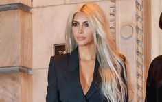This Is How Kim Kardashian Gets Gorgeous, Healthy Hair—Even After Dying It Platinum https://www.womenshealthmag.com/beauty/kim-kardashian-healthy-platinum-hair?utm_campaign=DailyDose