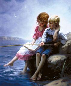 Mark Arian 1947 |  Romântico pintor realista