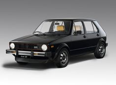 1974 VW golf — successor to volkswagen's iconic beetle, with styling by italdesign    italdesign giugiaro presents 30 car models during its 50th anniversary event in turin