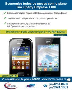 Campanha e-mail marketing Plano Liberty Tim Empresa para o cliente Tim Conecta.