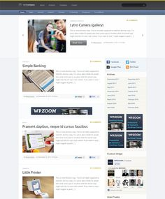 If you are finding a powerful wordpress theme for your personal blog, then you shouldn't skip this theme. It is designed to cater for all the need of a blog site. #blog, #wordpress , #themes