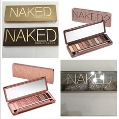 Urban Decay Bundle. Special bundle of all four Naked eyeshadow palettes. Naked original (1), Naked 2, Naked 3, and Naked Smoky. Retail value $220!  New and 💯% authentic!