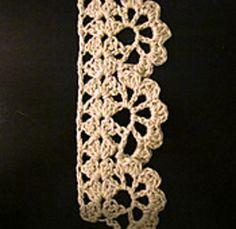 narrow alameda lace pattern by am
