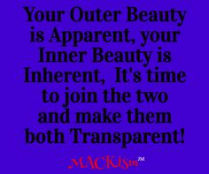 Beauty is more than just the outer appearance, it begins with an inner…