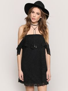 Daydreamer Mini Dress - Black - Gypsy Warrior
