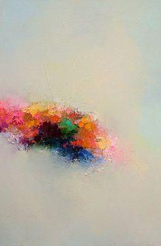 Fine Art Giclee PRINT 16x20 Abstract Landscape 24