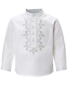 My Design Kumble Kurta Shirt | White | Monsoon