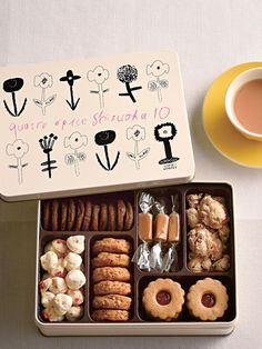 Inevitable to buy jackets! Cookie can gifts from 6 popular stores - Cookies - Banana Biscuits Packaging, Baking Packaging, Dessert Packaging, Food Packaging Design, Packaging For Cookies, Custom Packaging, Cookie Box, Cookie Gifts, Food Gifts