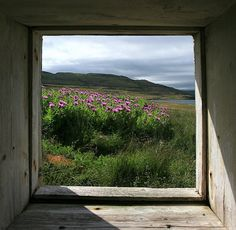 Window by olgeir via flickr Iceland, July 2007