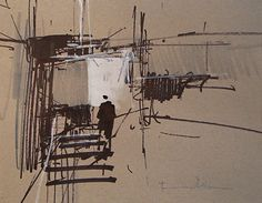 Dry Dock by Tony Allain ~ 8 x 10
