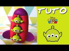 Disney Tsum Tsum Aliens polymer clay tutorial