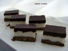 המערוך המקפץ: חיתוכיות באונטי (קוקוס ושוקולד)