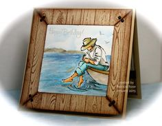 FS415, CT0115, Framed birthday wishes by kokirose - Cards and Paper Crafts at Splitcoaststampers