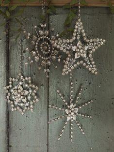 (1) Tumblr                                                                                zsazsabellagio             Bejewelled stars
