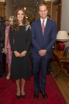 Prince William of England and Kate, Duchess of Cambridge.