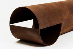 Guglielmo Poletti — Sections Bench Corten Steel Cuff Bracelets, Jewelry, Jewlery, Jewerly, Schmuck, Jewels, Jewelery, Fine Jewelry, Jewel