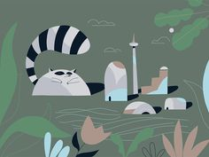 Kids Rugs, Animation, 2d, Animals, Character, Image, Home Decor, Character Design, Animales