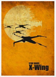 Star Wars Art: X-Wing