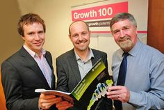 Growth 100 - Nick McDonald (Councillor - Nottingham City), Prof. Simon Mosey (Nottingham University Business School) and Dermot Duff (Leadre of the Growth 100 Programme NCC)