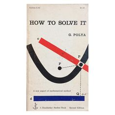 Cover by George Giusti. #bookcover #georgegiusti #midcenturydesign #mathillustration