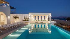 MIA II -Διώροφη εξοχική κατοικία στη Πάρο | vasdekis Paros, Mansions, House Styles, Outdoor Decor, Opera, Projects, Home Decor, Dream Pools, Mansion Houses