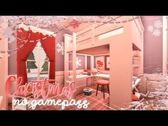 BLOXBURG| Christmas Family Mansion (No Gamepasses) | House Build - YouTube Family House Plans, Dream House Plans, Small House Plans, Home Building Design, Building A House, Christmas Bedroom, Christmas Home, Neon Bedroom, Cute Furniture