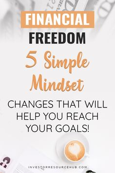 By just making a few simple changes to your mindset about money, you can pave your way towards financial freedom. #Investing #SaveMoney #FinancialFreedom Best Way To Invest, Where To Invest, Value Investing, Investing Money, Saving Ideas, Money Saving Tips, Personal Development Plan Example, Learn Stock Market, Forex Trading Tips
