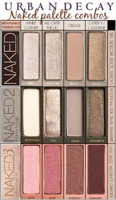 Naked eye pallets