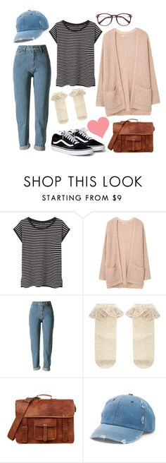 """i rly like wearing stripes"" by marielaznickova on Polyvore featuring MANGO, Monsoon and Mudd"