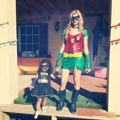 Mommy and daughter costumes