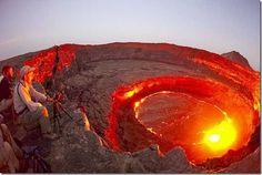 Lava Lake --Erta Ale, Ethiopia...