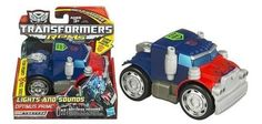 Transformers RPMS by TRANSFORMERS. $9.90. Lights and sounds. Ages 3+. Transformers RPMS Robot Powered Machines. Optimus Prime Autobot. Product does not convert, Flashing Headlights & Sounds.