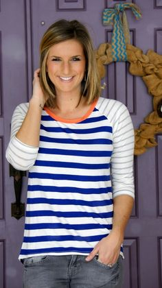 Olive & Oak - Mulliken Raglan Striped Knit Shirt from @stitchfix #stitchfix www.livinginyellow.com